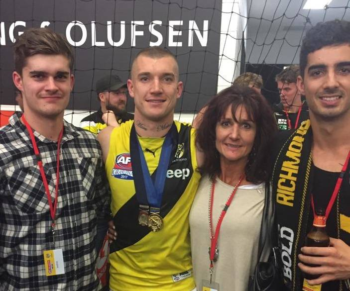 Dustin Martin Family, Mother, Parents