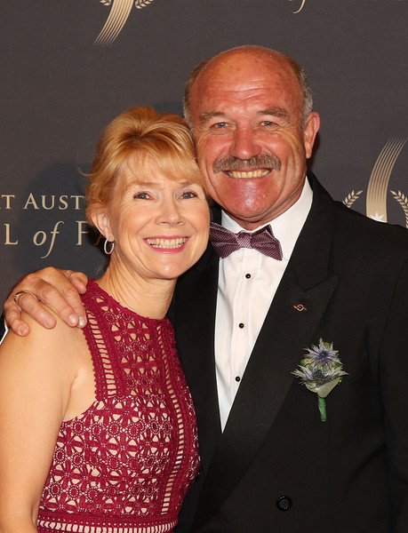 Wally Lewis Wife, Married, Children